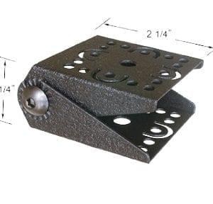 Universal Locking Adjustable Metal Tablet Holder with Key Lock TAB004KL-B