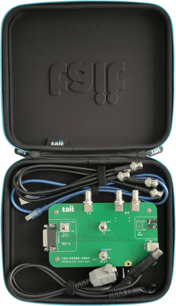 Calibration Test Programming Kit for Tait TP3
