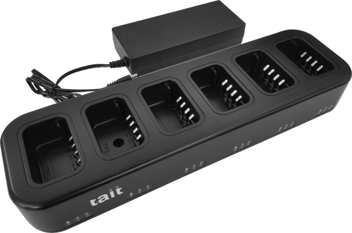 6-Unit Charger for Tait TP3