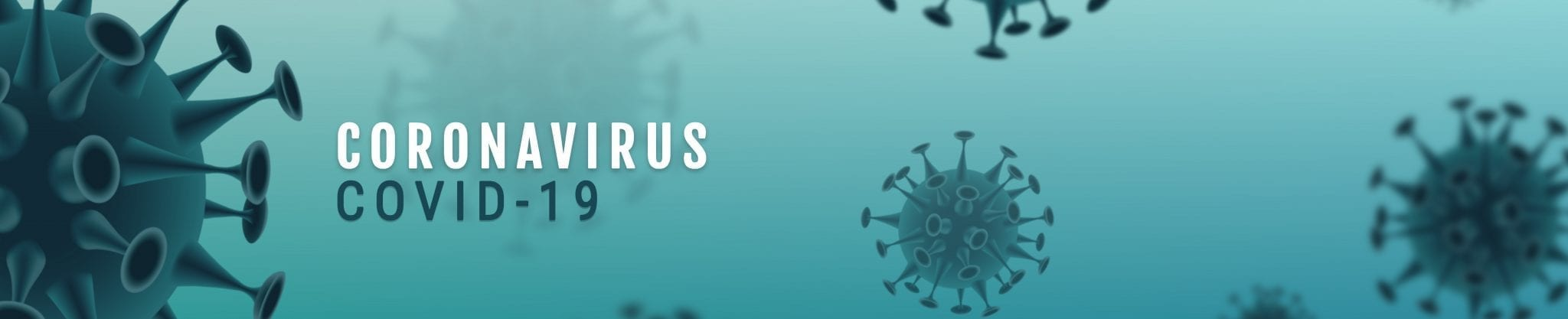 Corona Virus banner illustration
